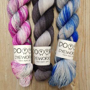 Dottir Dyeworks Sock